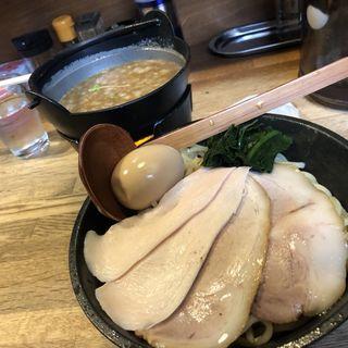 濃厚鶏白湯つけ麺(麺屋時茂)