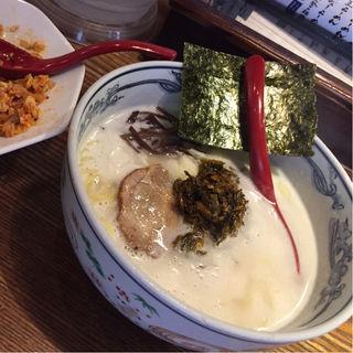 濃厚豚骨らーめん(麺や 六三六 茶屋町店 )