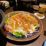 冬の根菜サラダ
