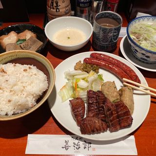 牛タン定食(たんや 善治郎 牛たん通り店)