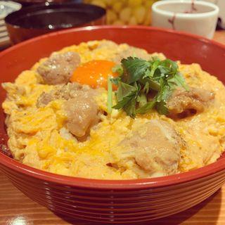 朝びき鶏の親子丼(おでん×スタンド 三徳六味)