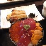 銀ダラ西京焼き全部のせご飯