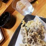 沖縄もずくの天ぷら