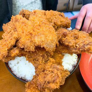 ソースカツ丼五枚丼(ごまいどん)