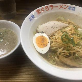 味噌スタミナそば(元祖まぐろラーメン 本店 (がんそまぐろらーめん))