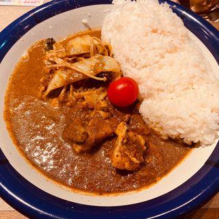 チキン野菜カレー(カリーライス専門店エチオピア 本店)