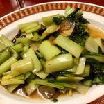 青菜の炒めもの