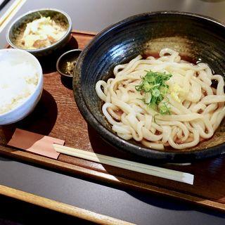 うどん定食(麺工房北の )