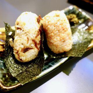 おむすび(しゃけ・じゃこ)(麺工房北の )