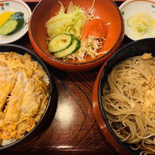 カツ丼定食(新ふじ )