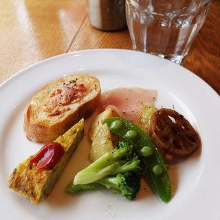 前菜+バゲットセット(パスタショップ)
