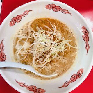 海老味噌ラーメン(ササラ 京橋店 )