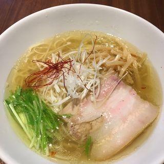 香彩鶏だし特製塩らーめん(麺屋 翔 品川店 )