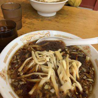 メンマワンタン麺(ラーメン富士屋  五井店 (ラーメンフジヤ))
