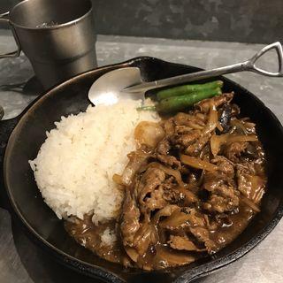 茄子と牛肉の旨味噌炒めカレー(野菜を食べるカレーcamp エキマルシェ大阪店)