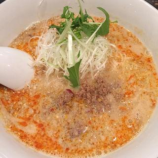 赤担々麺(麺家 烈 安城美園店 (メンヤ レツ))