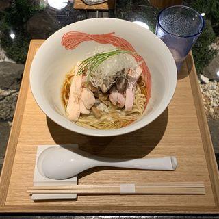天草大王の鶏油混ぜsoba(Japanese Ramen Noodle Lab Q)