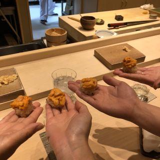 手のり寿司(北の華 はやし )