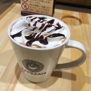 カフェモカ (ホット/L)(KEY'S CAFE 福岡吉塚店)