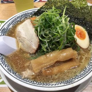肉そば全部盛り(丸源ラーメン 西府中店 )