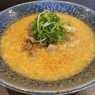 鶏卵らーめん(小麦と大豆 自家製麺 麺や ひなた)