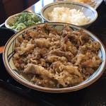 牛すき釜玉(肉2倍)