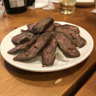 自家製羊肉の腸詰(羊香味坊)