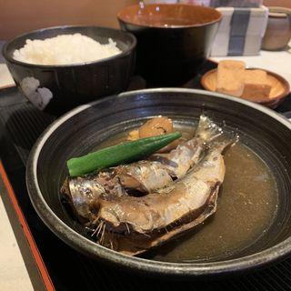 いわしの梅煮定食(酒処 やまね )
