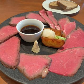 ローストビーフ(牛肉店 シマダ)