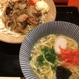生姜焼きセット(うみかぜ)