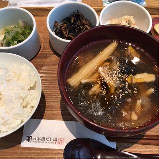 だしスープ膳(日本橋だし場 はなれ)