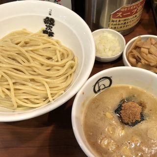 つけ麺、メンマ(紋次郎 梅田第2ビル店 )