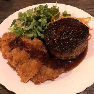 ハンバーグ&ヒレカツ(洋食屋ちと(CHITO))