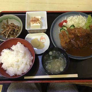 とんかつ定食(はせ川レストラン )