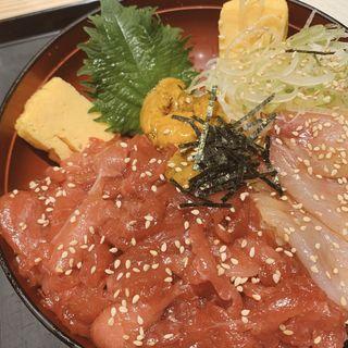日替わり漬け丼(二代目野口鮮魚店)