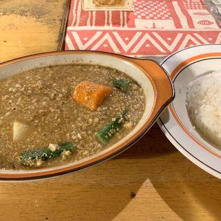 ナット・挽肉ベジタブル(村上カレー店・プルプル)