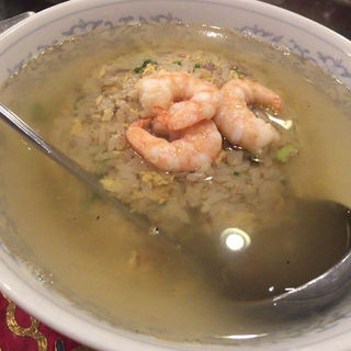 スープチャーハン(慶楽)