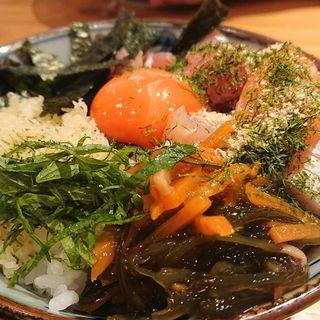 海鮮丼(魚屋スタンドふじ子)