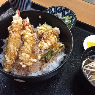 鯛と海老の天丼(魚彩 銀の鯛 )