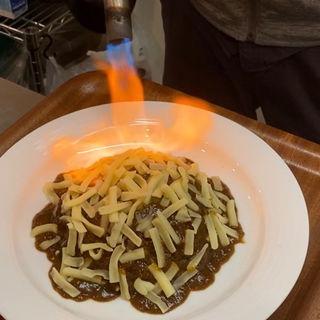 炙りチーズカレー(頑張れ!オオヌキカレー)