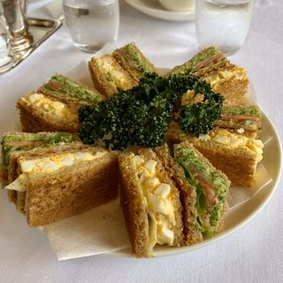 野菜タマゴサンド(銀座ウエスト 青山ガーデン)
