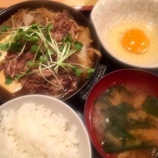 すき焼き定食(翠幸 )