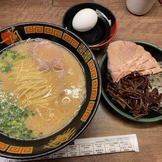 とんこつラーメン(一蘭 梅田阪急東通店)