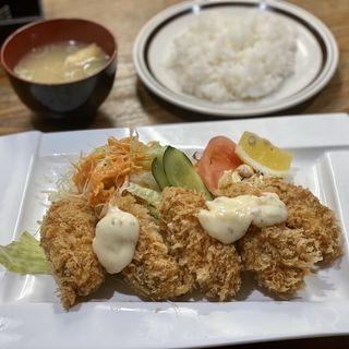 カキフライ定食(ターBOU (ボウ))