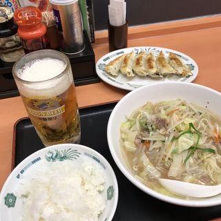 たっぷり野菜ラーメン(日高屋 秋津店 )