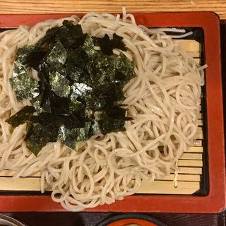 ざるそば大盛り+麺100g増量(そば処 はまなす)