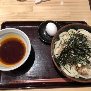 牛肉辛つけうどん(肉つけうどん うつけ 霞ヶ関飯野ビル店)