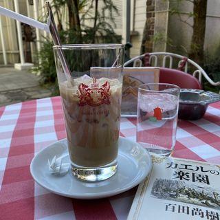 アイスカフェオーレ(イノダコーヒー本店)