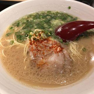 ラーメン(麺屋 我ガ)