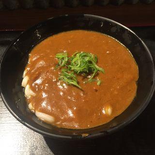 カレーうどん(親父の製麺所 上野店 )